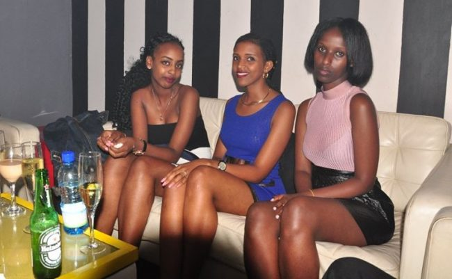 Meet girls in Kigali